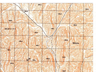 Reduced fragment of topographic map ru--gs--050k--j41-141-2--N036-20_E064-15--N036-10_E064-30