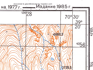 Reduced fragment of topographic map ru--gs--050k--j42-033-2--N039-20_E070-15--N039-10_E070-30