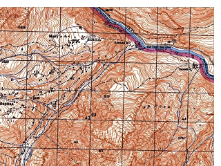 Reduced fragment of topographic map ru--gs--050k--j42-071-1--N038-20_E071-00--N038-10_E071-15