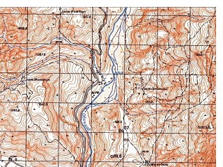 Reduced fragment of topographic map ru--gs--050k--j42-081-1--N038-00_E070-00--N037-50_E070-15