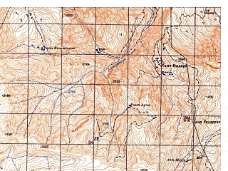 Reduced fragment of topographic map ru--gs--050k--j42-081-2--N038-00_E070-15--N037-50_E070-30