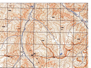 Reduced fragment of topographic map ru--gs--050k--j42-082-3--N037-50_E070-30--N037-40_E070-45