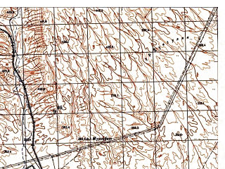 Reduced fragment of topographic map ru--gs--050k--j42-086-3--N037-30_E066-30--N037-20_E066-45