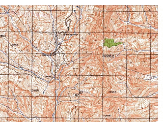 Reduced fragment of topographic map ru--gs--050k--j42-093-1--N037-40_E070-00--N037-30_E070-15