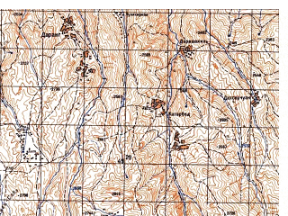Reduced fragment of topographic map ru--gs--050k--j42-093-4--N037-30_E070-15--N037-20_E070-30