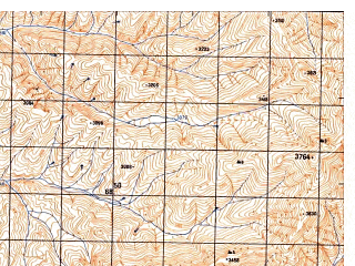 Reduced fragment of topographic map ru--gs--050k--j42-094-1--N037-40_E070-30--N037-30_E070-45