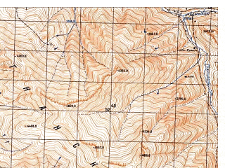 Reduced fragment of topographic map ru--gs--050k--j42-096-3--N037-30_E071-30--N037-20_E071-45