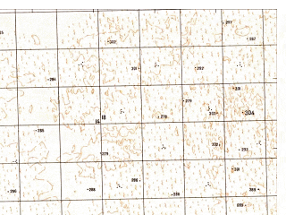 Reduced fragment of topographic map ru--gs--050k--j42-098-4--N037-10_E066-45--N037-00_E067-00; towns and cities Qarchi Gak
