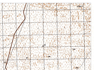Reduced fragment of topographic map ru--gs--050k--j42-099-3--N037-10_E067-00--N037-00_E067-15
