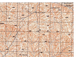 Reduced fragment of topographic map ru--gs--050k--j42-106-1--N037-20_E070-30--N037-10_E070-45