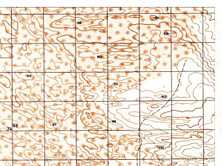 Reduced fragment of topographic map ru--gs--050k--j42-113-4--N036-50_E068-15--N036-40_E068-30