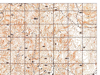Reduced fragment of topographic map ru--gs--050k--j42-114-2--N037-00_E068-45--N036-50_E069-00