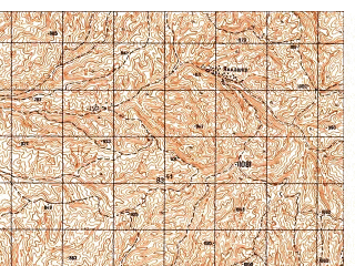 Reduced fragment of topographic map ru--gs--050k--j42-115-2--N037-00_E069-15--N036-50_E069-30