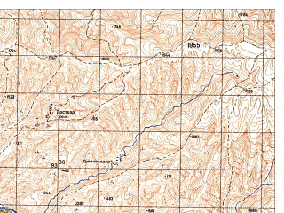 Reduced fragment of topographic map ru--gs--050k--j42-117-1--N037-00_E070-00--N036-50_E070-15
