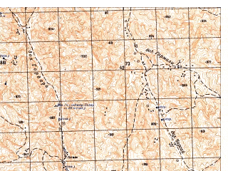 Reduced fragment of topographic map ru--gs--050k--j42-121-4--N036-30_E066-15--N036-20_E066-30