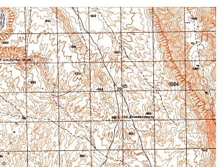 Reduced fragment of topographic map ru--gs--050k--j42-124-3--N036-30_E067-30--N036-20_E067-45