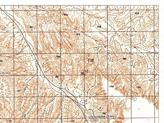Reduced fragment of topographic map ru--gs--050k--j42-125-4--N036-30_E068-15--N036-20_E068-30
