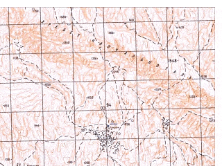 Reduced fragment of topographic map ru--gs--050k--j42-134-3--N036-10_E066-30--N036-00_E066-45