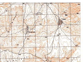 Reduced fragment of topographic map ru--gs--050k--j42-135-1--N036-20_E067-00--N036-10_E067-15