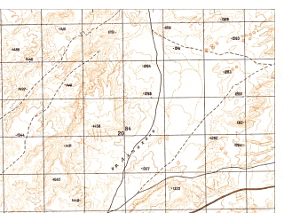 Reduced fragment of topographic map ru--gs--050k--j42-136-1--N036-20_E067-30--N036-10_E067-45