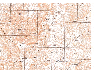 Reduced fragment of topographic map ru--gs--050k--j42-136-4--N036-10_E067-45--N036-00_E068-00