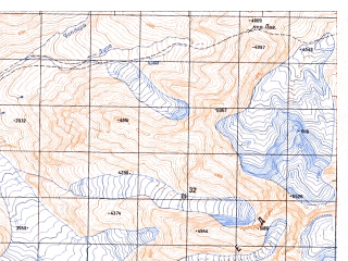 Reduced fragment of topographic map ru--gs--050k--j42-141-4--N036-10_E070-15--N036-00_E070-30