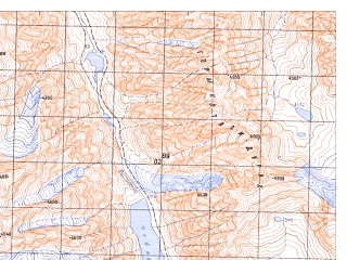 Reduced fragment of topographic map ru--gs--050k--j42-143-3--N036-10_E071-00--N036-00_E071-15