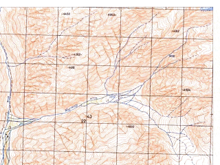 Reduced fragment of topographic map ru--gs--050k--j42-144-1--N036-20_E071-30--N036-10_E071-45