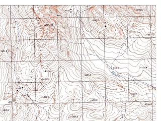 Reduced fragment of topographic map ru--gs--050k--j43-087-3--N037-30_E073-00--N037-20_E073-15; towns and cities Khargush