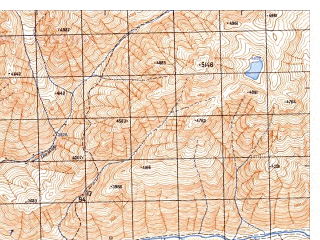 Reduced fragment of topographic map ru--gs--050k--j43-110-2--N037-00_E072-45--N036-50_E073-00