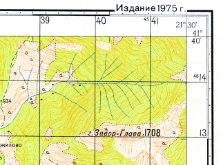 Reduced fragment of topographic map ru--gs--050k--k34-091-2--N041-40_E021-15--N041-30_E021-30
