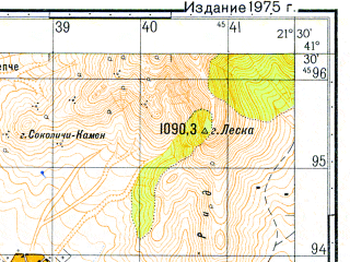Reduced fragment of topographic map ru--gs--050k--k34-091-4--N041-30_E021-15--N041-20_E021-30