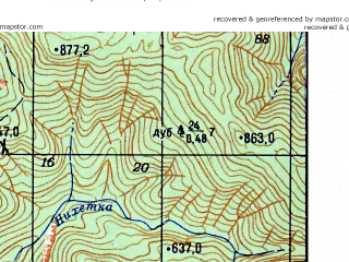 Reduced fragment of topographic map ru--gs--050k--k37-007-1--N044-00_E039-00--N043-50_E039-15