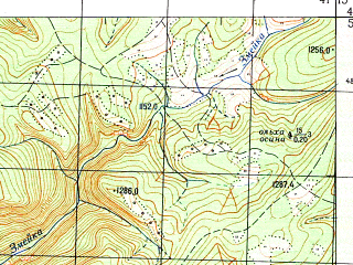 Reduced fragment of topographic map ru--gs--050k--k37-011-3--N043-50_E041-00--N043-40_E041-15