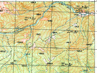 Reduced fragment of topographic map ru--gs--050k--k37-048-4--N042-50_E041-45--N042-40_E042-00