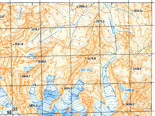 Reduced fragment of topographic map ru--gs--050k--k38-026-2--N043-20_E042-45--N043-10_E043-00