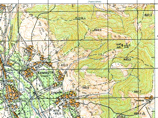 Download topographic map in area of Tskhinvali Znauri mapstorcom