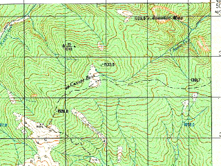 Reduced fragment of topographic map ru--gs--050k--k38-079-4--N041-50_E045-15--N041-40_E045-30; towns and cities Sagaredzho