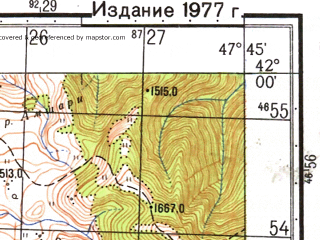 Reduced fragment of topographic map ru--gs--050k--k38-084-1--N042-00_E047-30--N041-50_E047-45