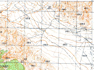 Reduced fragment of topographic map ru--gs--050k--k38-106-3--N041-10_E046-30--N041-00_E046-45