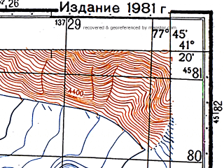 Reduced fragment of topographic map ru--gs--050k--k43-108-1--N041-20_E077-30--N041-10_E077-45