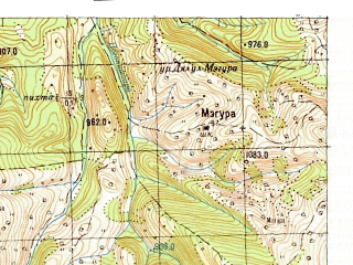 Reduced fragment of topographic map ru--gs--050k--l35-003-3--N047-50_E025-00--N047-40_E025-15