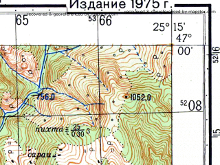 Reduced fragment of topographic map ru--gs--050k--l35-039-1--N047-00_E025-00--N046-50_E025-15