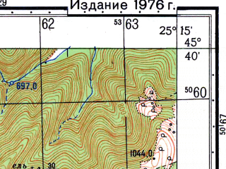 Reduced fragment of topographic map ru--gs--050k--l35-087-1--N045-40_E025-00--N045-30_E025-15