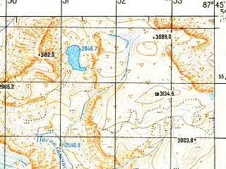 Reduced fragment of topographic map ru--gs--050k--m45-080-1--N050-00_E087-30--N049-50_E087-45