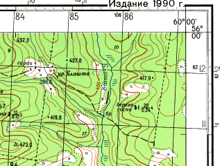 Reduced fragment of topographic map ru--gs--050k--n40-012-2--N056-00_E059-45--N055-50_E060-00; towns and cities Nizhniy Ufaley