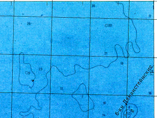 Reduced fragment of topographic map ru--gs--050k--o35-010-1--N060-00_E028-30--N059-50_E028-45