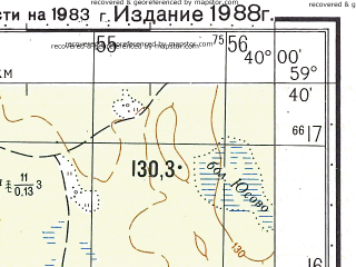 Reduced fragment of topographic map ru--gs--050k--o37-020-2--N059-40_E039-45--N059-30_E040-00; towns and cities Filisovo, Shera