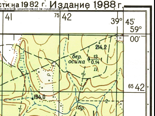 Reduced fragment of topographic map ru--gs--050k--o37-044-1--N059-00_E039-30--N058-50_E039-45