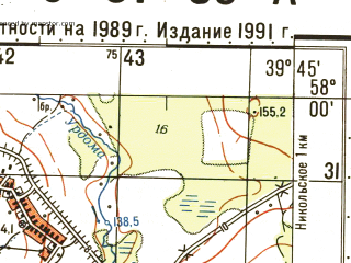 Reduced fragment of topographic map ru--gs--050k--o37-080-1--N058-00_E039-30--N057-50_E039-45; towns and cities Tutayev
